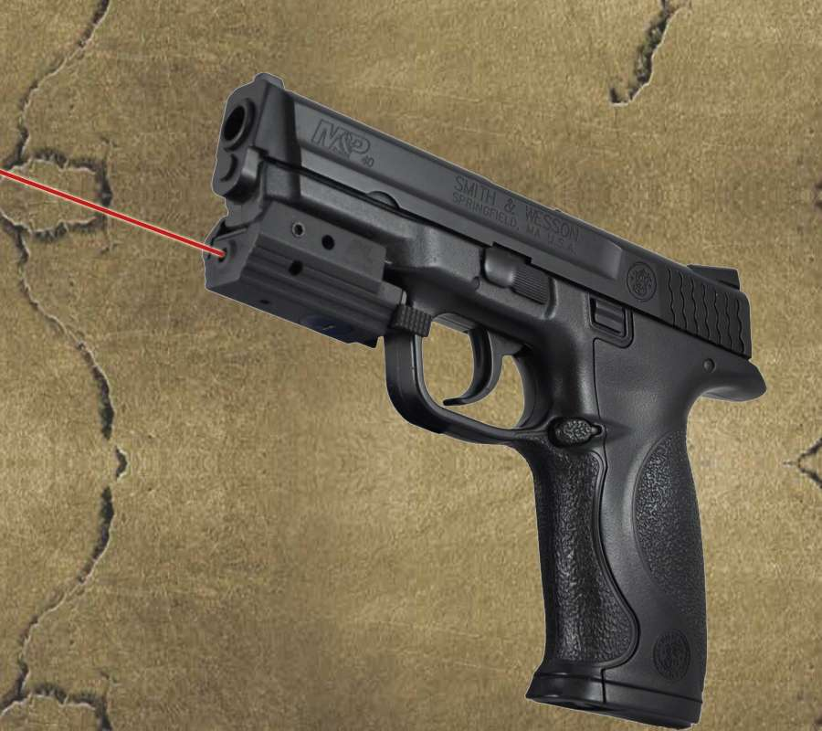 Ncstar Low Profile Pistol Red Laser Sight