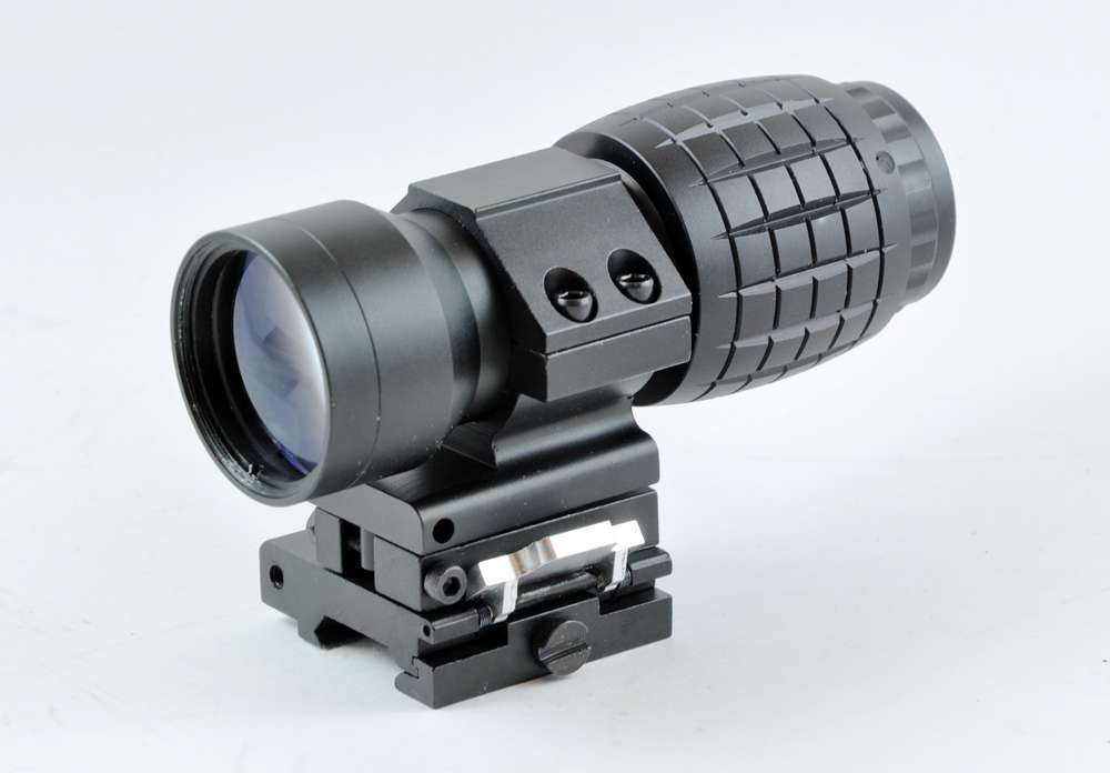 Ontarget Holographic Sight 3x Magnifier With Flip To Side
